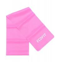 Еспандер стрічковий  Ecofit MD1318 TPE 4,5-5,4кг  1200*150*0.4мм  рожевий