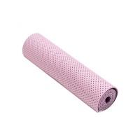 Коврик для фитнеса Ecofit MD9032 двухслойный перфорированныйTPE 1830*610*6мм фиолетовый