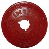 Диск InterAtletika SТ521.1 цветной 0,5 кг